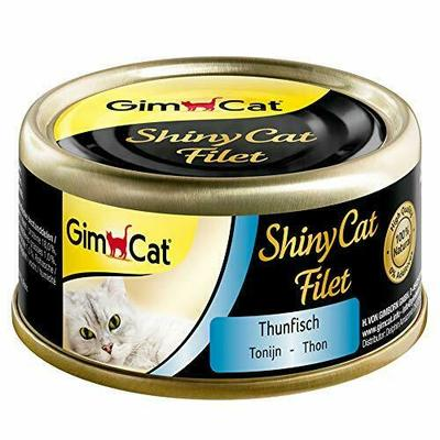 GimCat ShinyCat Fillet / Cat food with 100% fillet for adult cats / No 70 g