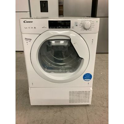 Candy CBTDH7A1TE A+ Heat Pump Tumble Dryer Heat Pump 7 Kg White #EDB241259