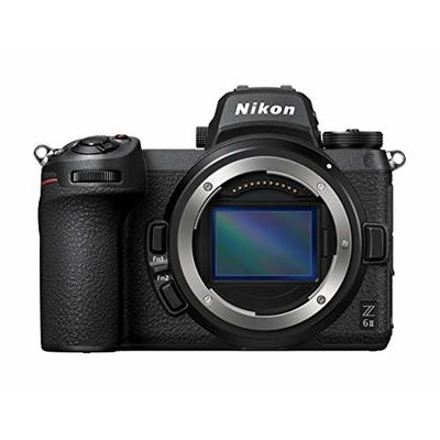 Nikon Z6 II Mirrorless Camera Body (24.5 megapixel, Ultra wide ISO, 14 fps Continuous Shooting, Duel Processor, Duel Card Slots, 4K Full HD Video)