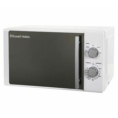 RUSSELL HOBBS RHM2093 Compact Solo Microwave 800W 20L Dial White – Currys