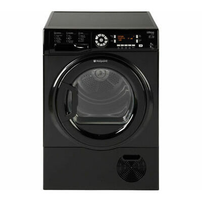 HOTPOINT Ultima S-Line SUTCD97B6KM Condenser Tumble Dryer – Black – Currys