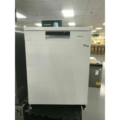 Hisense HS6130WUK Standard Dishwasher – White – A+++ Rated #261868
