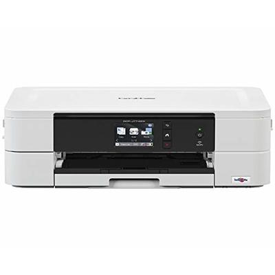 Brother DCP-J774DW Colour Inkjet Printer – All-in-One, Wireless/USB 2.0, Printer/Scanner/Copier, 2 Sided Printing, A4 Printer, Small Office/Home Office Printer