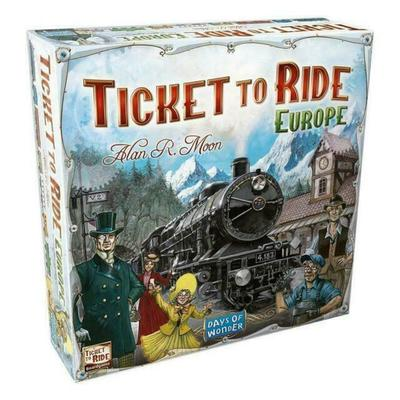 Ticket To Ride: Europe – Days of Wonder 2-5 Player Board Game – NEW & SEALED