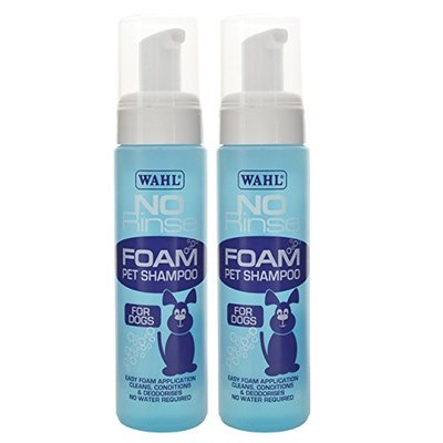 Wahl Smartgroom Shampoo No Rinse for Pets, 240 ml x2