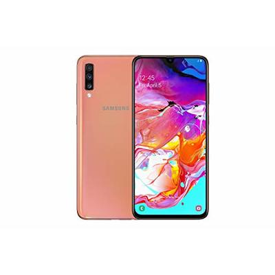 Samsung Galaxy A70 128 GB Dual-SIM 6.7-inch Android Smartphone – Coral (UK Version)