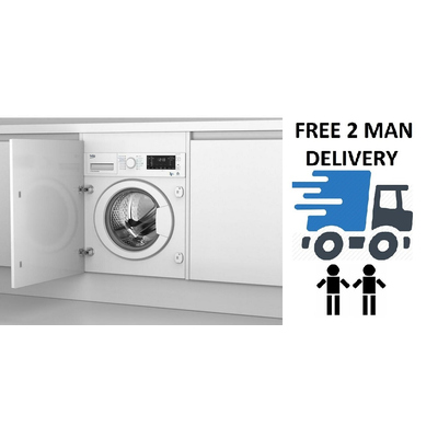 Beko WDIC752300F2 7kg/5kg 1200 Spin Integrated Washer Dryer + 2 Year Warranty