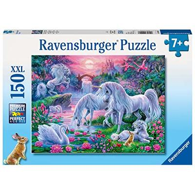 Ravensburger 10021 Unicorns in The Evening red